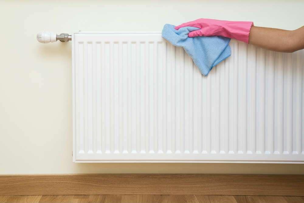 Come pulire correttamente la superficie del radiatore!