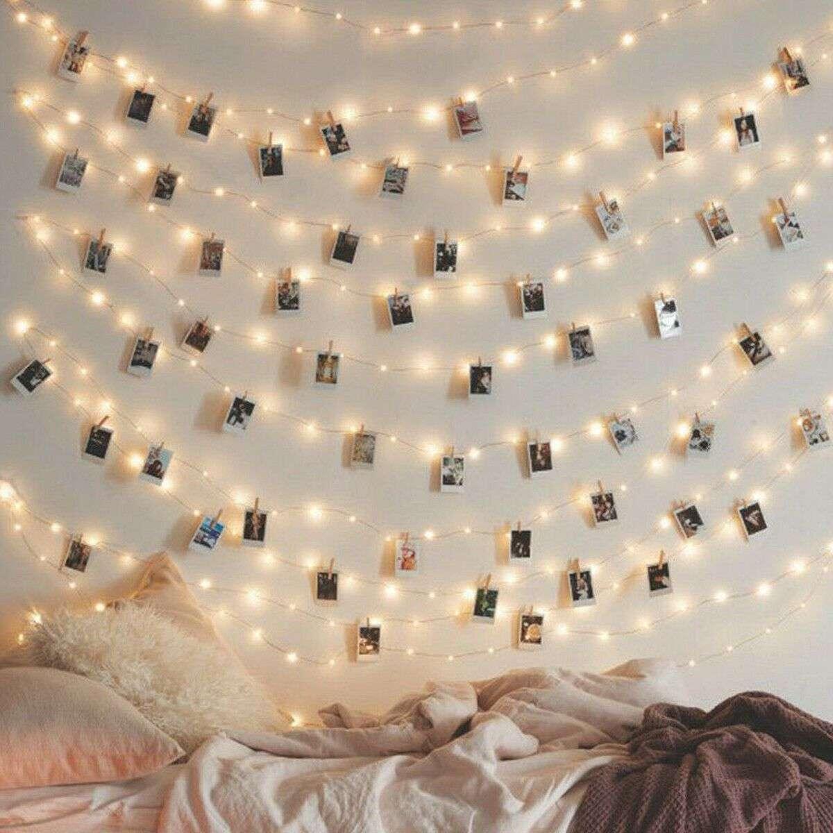 Crea un'atmosfera da sogno con queste luci