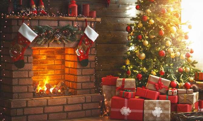 Decorazioni di Natale semplici e salvaspazio